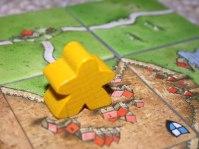 Carcassonne meeple