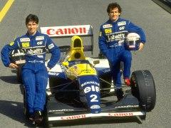 Damon Hill Alain Prost Williams 93