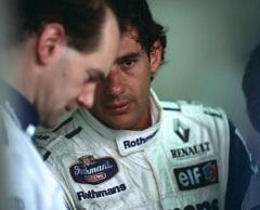 Adrian Newey Ayrton Senna