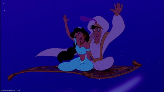 Alladin A whole new world