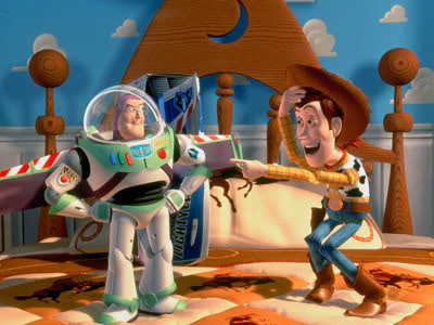 ToyStory Buzz e Woody